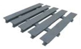Pultruded T 10-35 piece