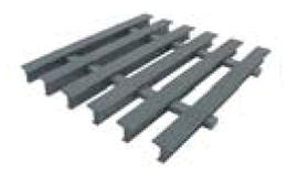 Pultruded T 10-50 piece