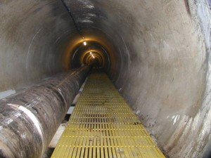 Pultruded Fiberglass Overview tunnel