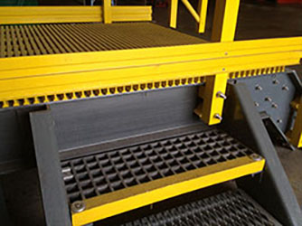 Advantages Of FRP Stair Treads And Stair Tread Covers: