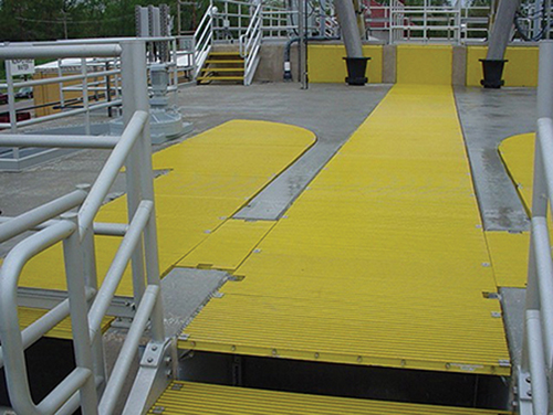Fiberglass Grating Fabricating example