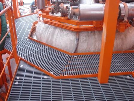 fabrication MSS FRP 12