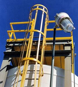 frp cage-ladder fiberglass