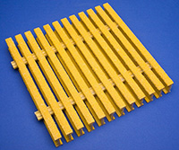 Pultruded-fiberglass-yellow